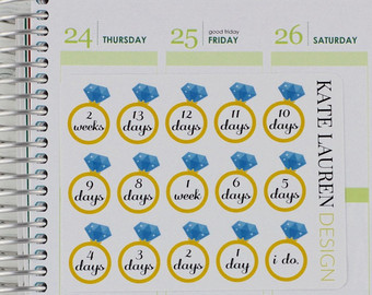 Wedding countdown | Etsy