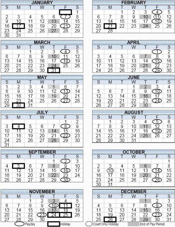 2017 Payroll Calendar Adp Academic Calendar