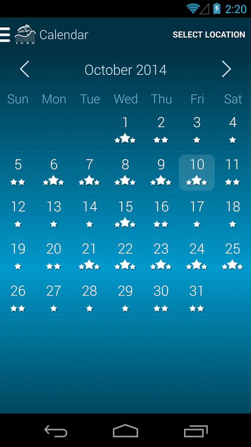2016 moon phase calendar for fishing calendar template 2018 for Fishing moon phase