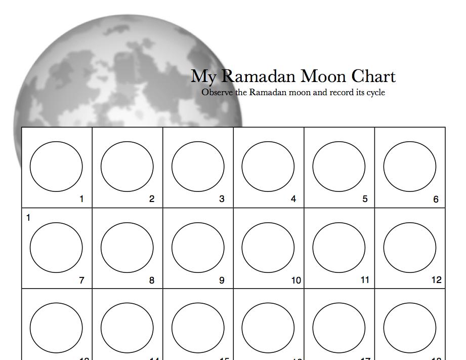 blank moon calendar worksheet calendar template 2018
