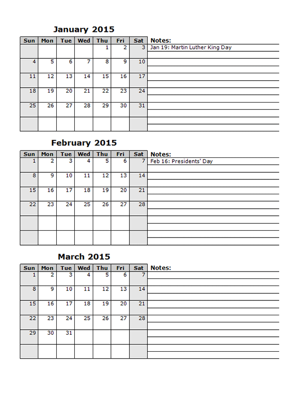 multiple month calendar template - calendar template multimonth calendar template 2018