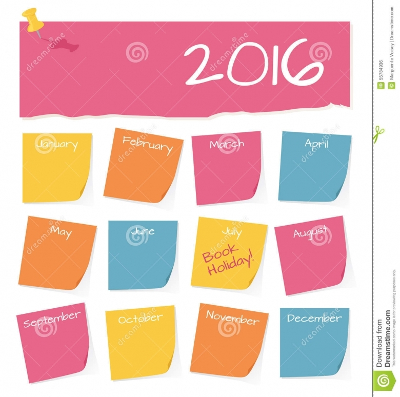 Calendario 2016 Lembretes Calendar Template 2016 | Load in crack