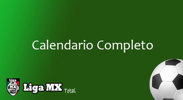 calendario de futbol liga mexicana 2016