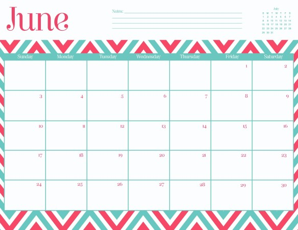 Cute June 2016 Calendar Printable | jhj | Pinterest | Calendar