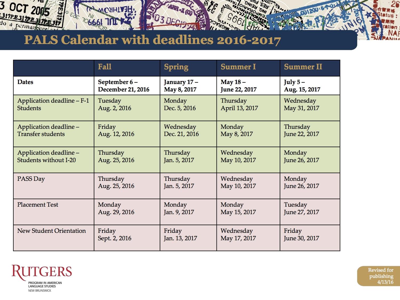 Fordham Academic Calendar | Free Calendar 2017