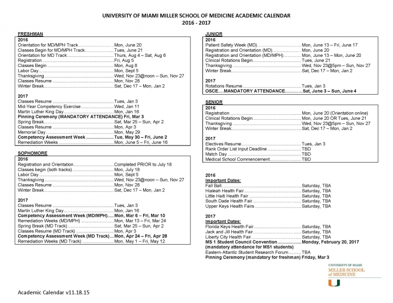 Fordham Law Academic Calendar Academic Calendar