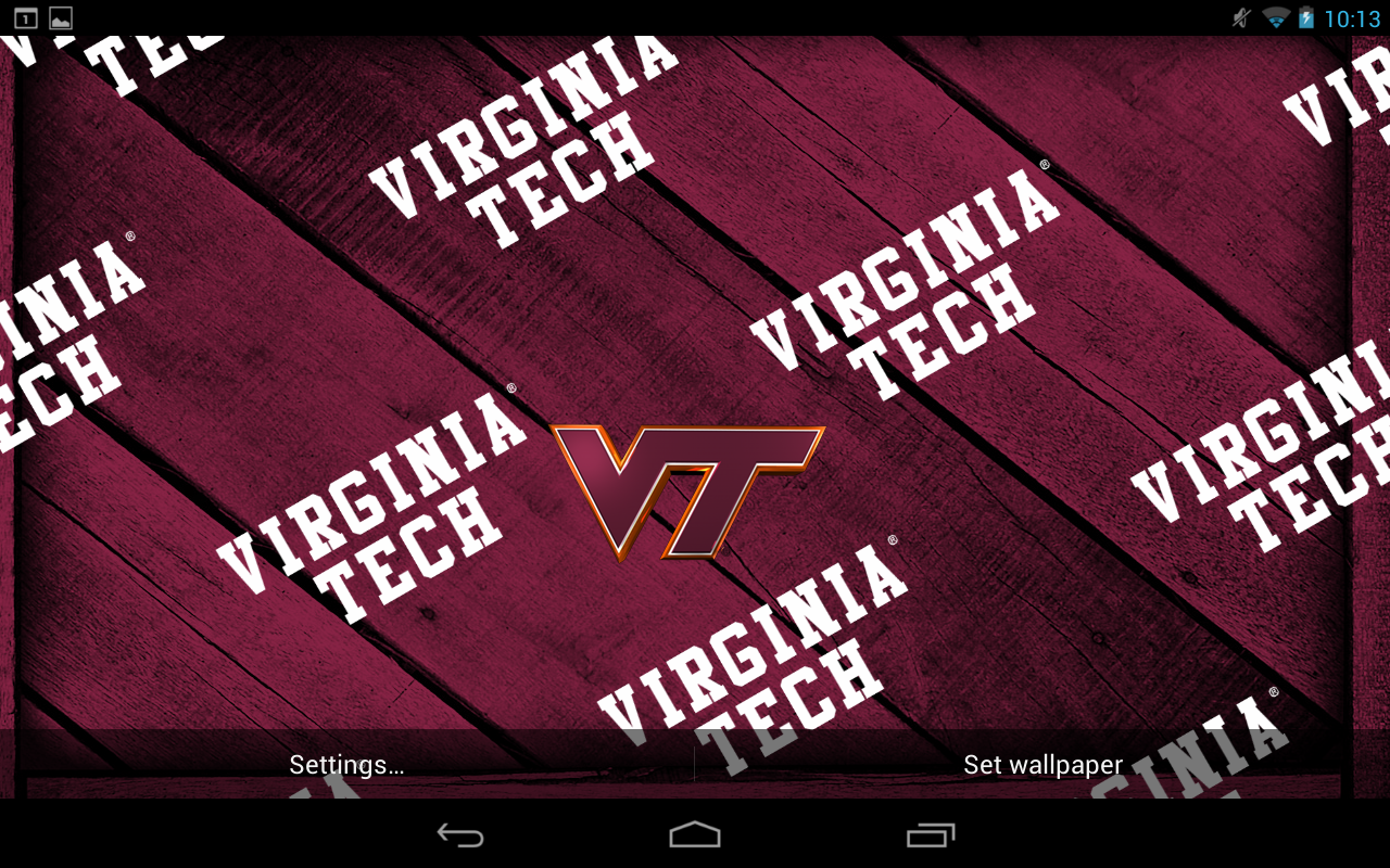 Virginia Tech Live Wallpaper Android Apps on Google Play