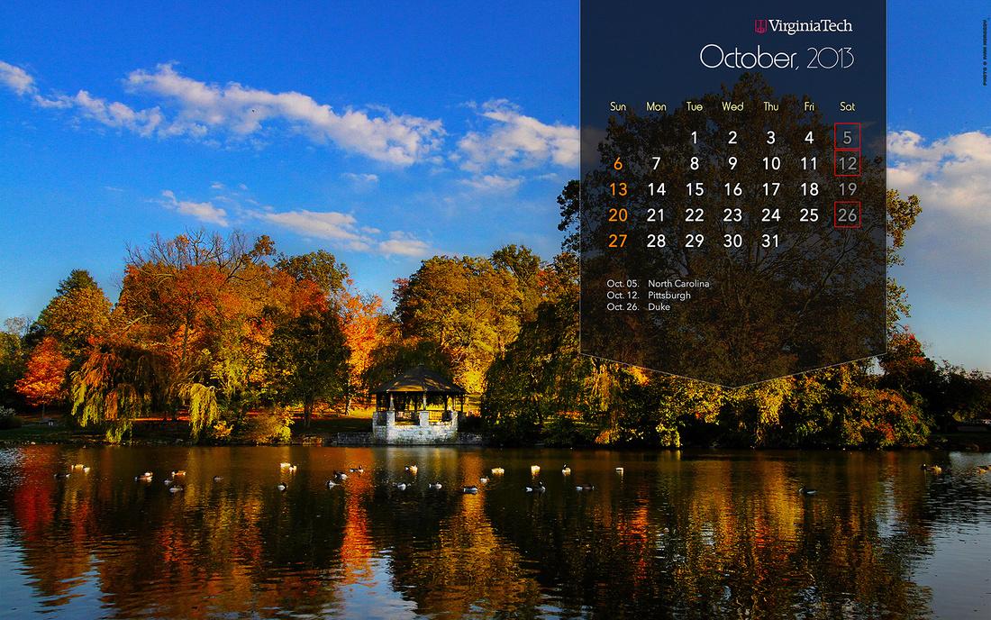 Ivan Morozov   Calendar Wallpaper: October, 2013