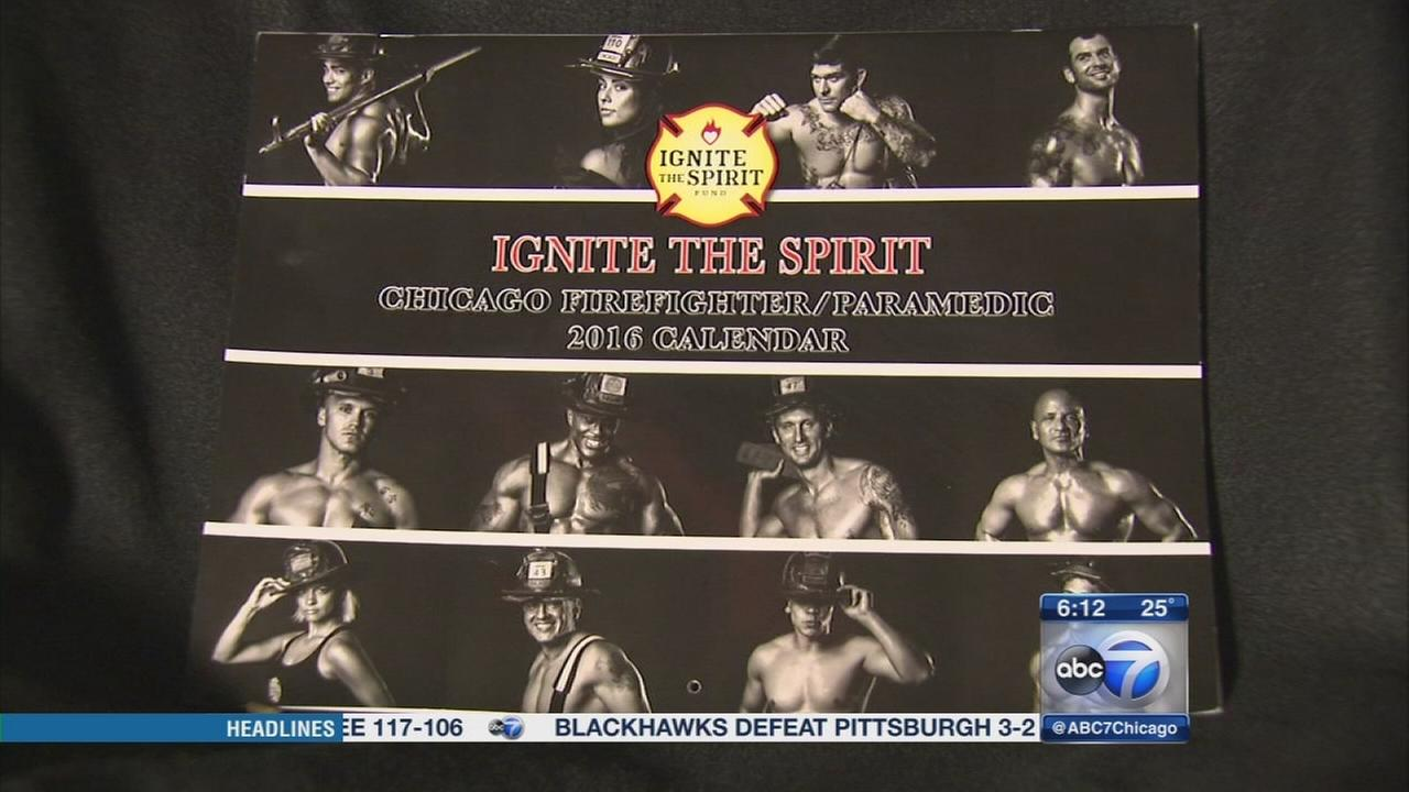 Ignite the Spirit 2016 Firefighter calendar on sale after two year