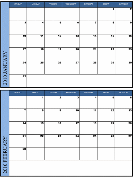 Printable Calendar 2013 for United States PDF