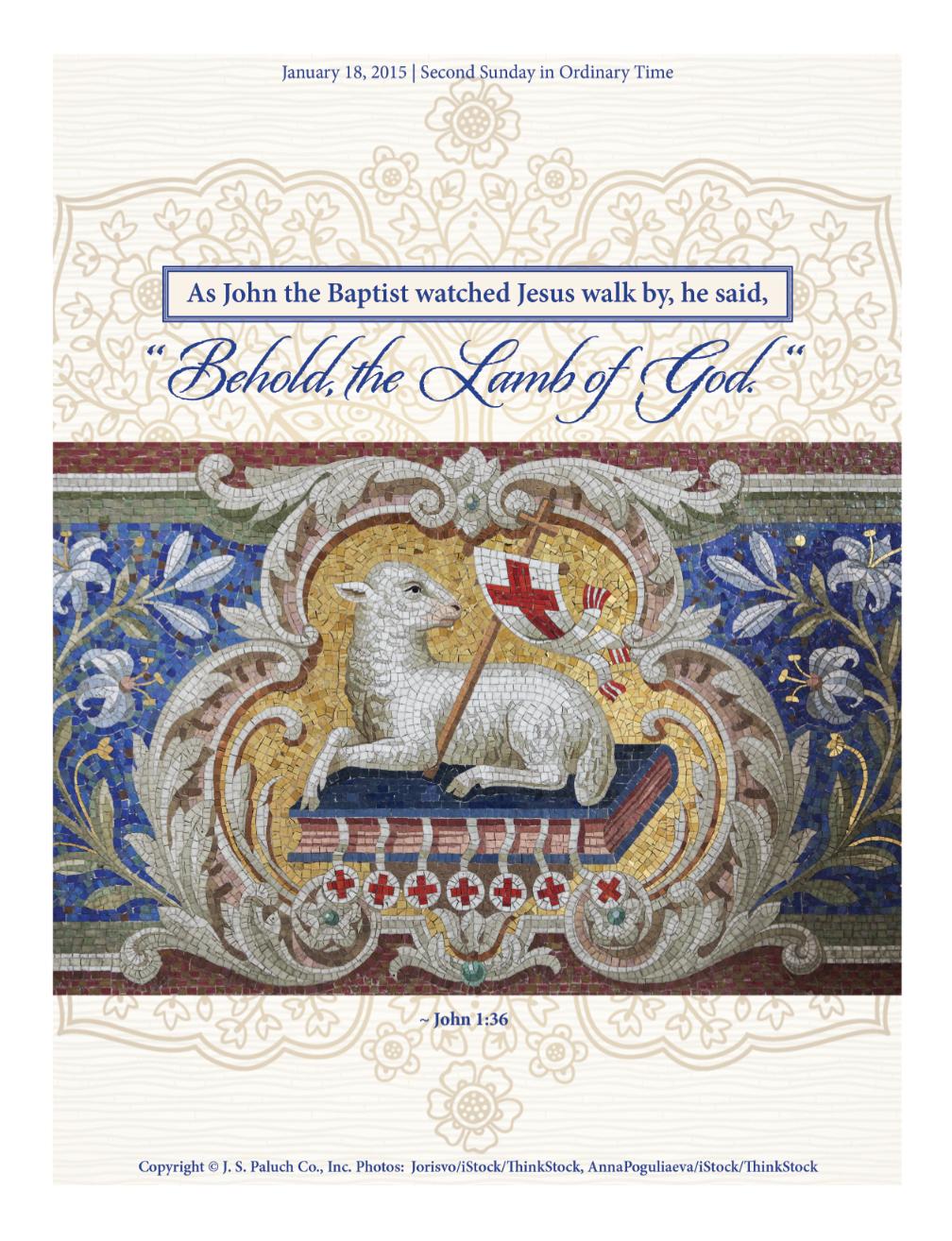 Catholic Graphic Design | Bulletin Cover Designs | Jean Coelho