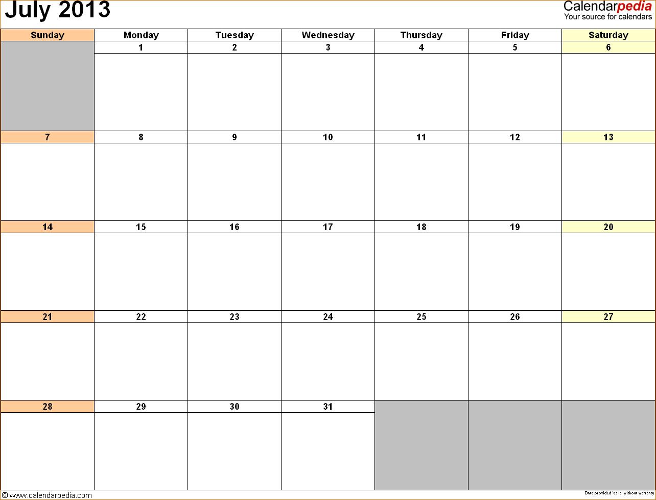 2016 Word Calendar Wizard | Calendar Template 2017