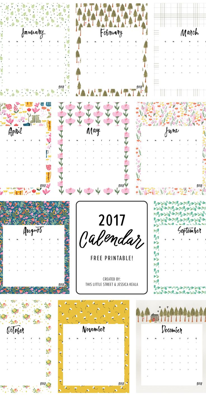 15 Free Printable 2015 Calendars | Free printable calendar