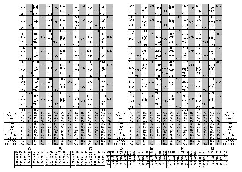 Depo Shot Calendar Chart | 2017 Calendar Printable