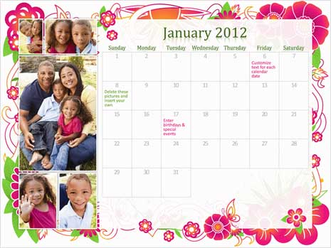 9 Best Images of 2016 Printable Weekly Family Planner Free