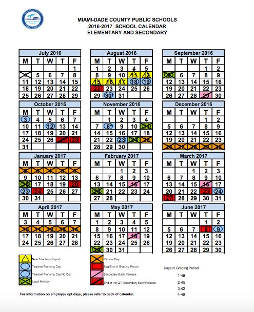 Calendars | Toussaint L'Ouverture Elementary