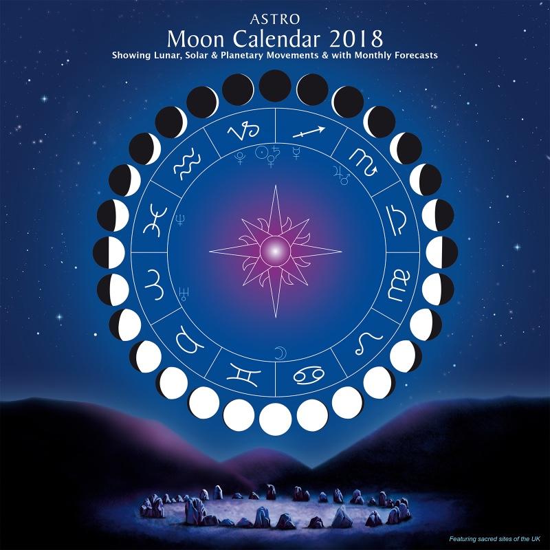 Astro MOON CALENDAR 2018 Astrocal