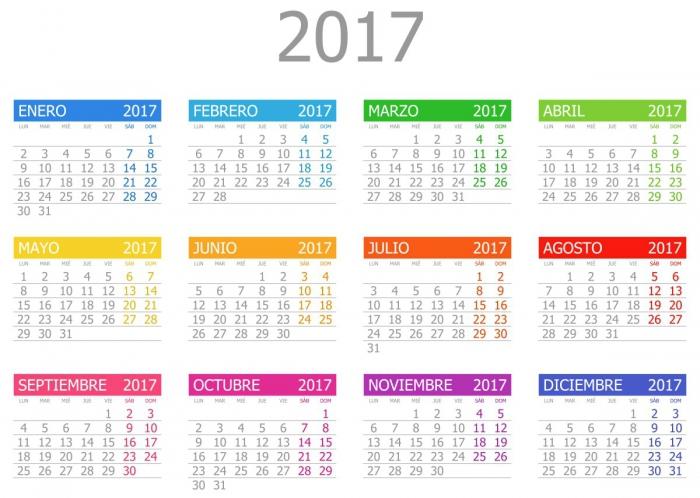 Calendarios Modelos De Puerto Rico   Calendar Printable 2017