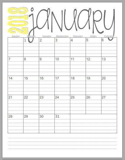 25+ unique Calendar 2018 ideas on Pinterest | 2018 printable