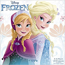 2018 Disney Frozen Wall Calendar (Mead): Mead: 9781682098592