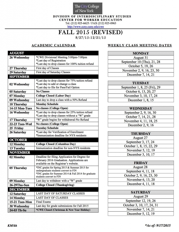 Nyc Board Of Education Calendar » Calendar Template 2017