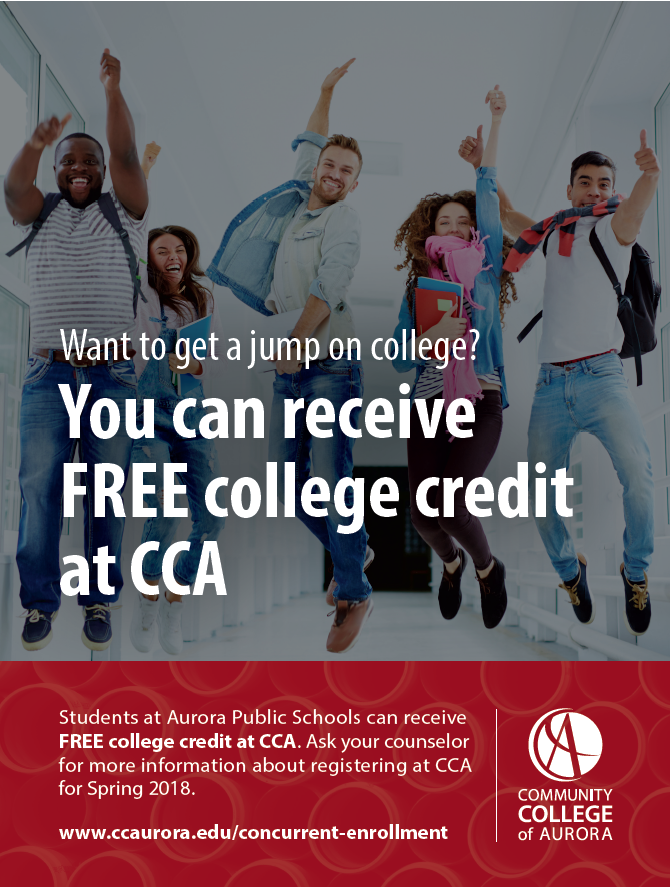 College Credit Options – Aurora Public Schools