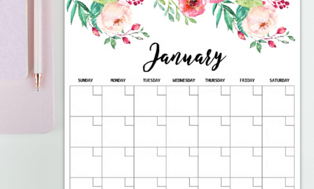 Monthly Timetable Templates