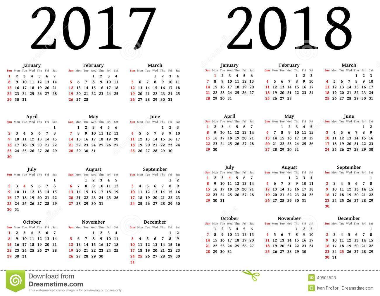 2018 julian calendar printable Toreto.co