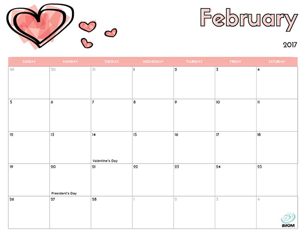 Flower Printable Calendar #calendar #printable | Printable
