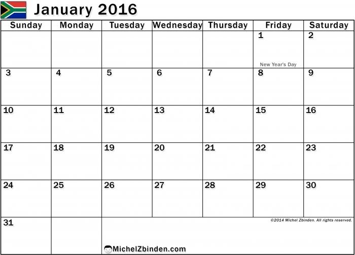 Tabla General Clausrira 2016 Calendar * Calendar Printable Template