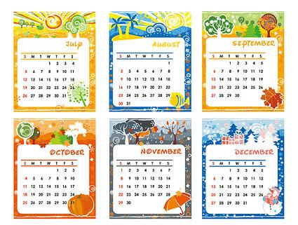 templates for calendar Toreto.co
