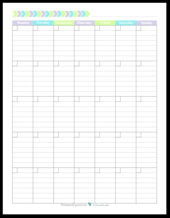 Publisher Understated Calendar Template * Calendar Printable Template