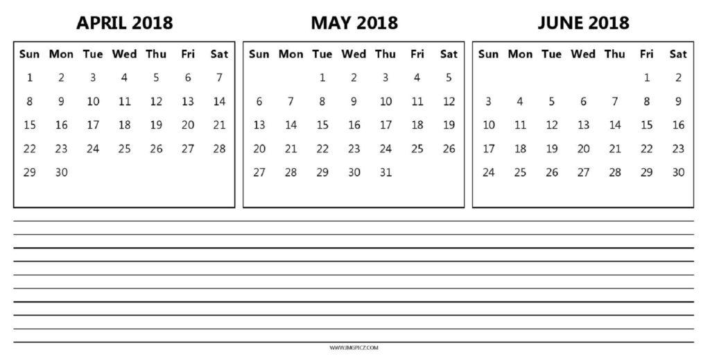 may june calendar 2018 Twenty.hueandi.co