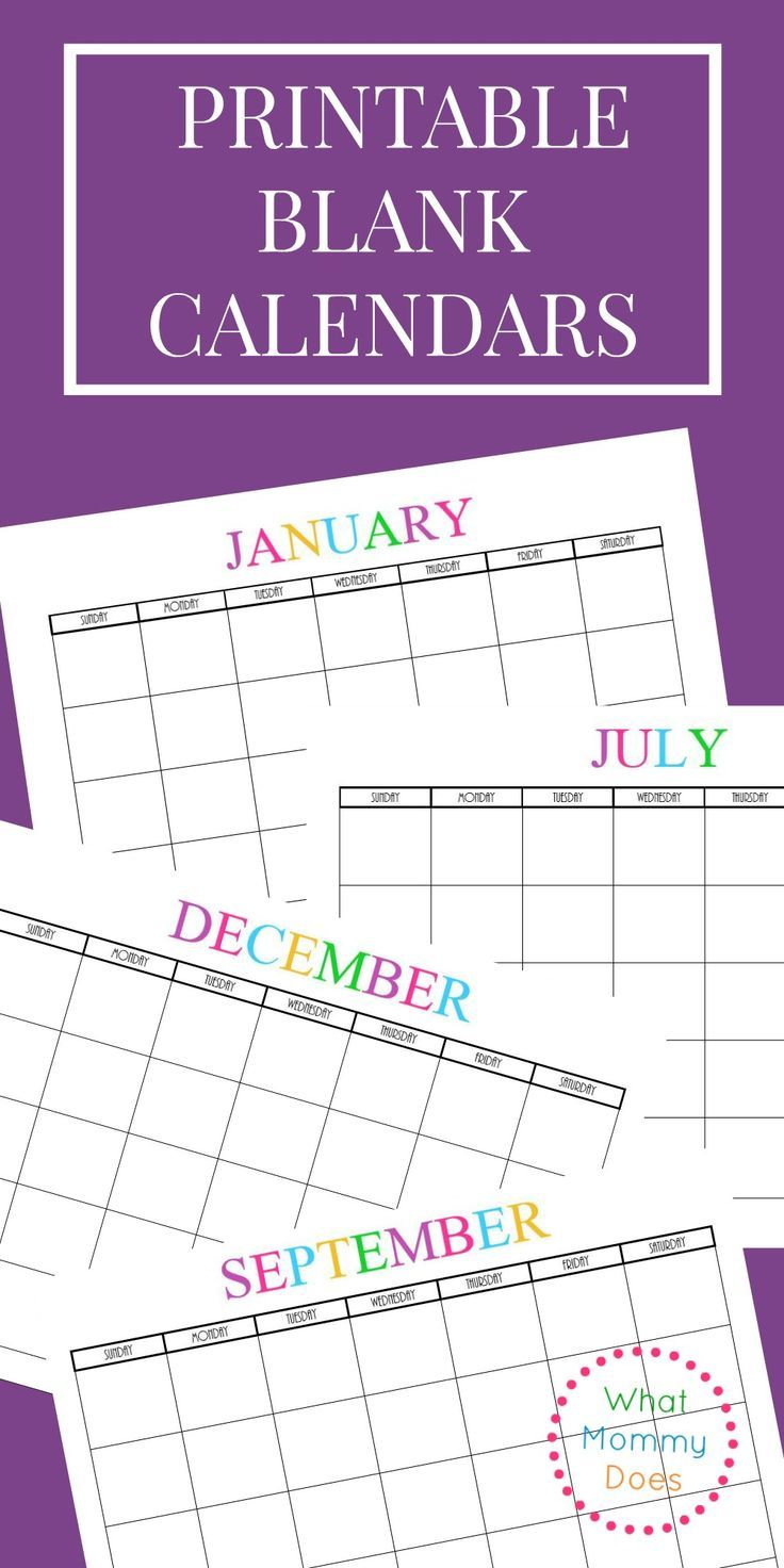 Free 2018 Word Calendar Blank and Printable Calendar Templates