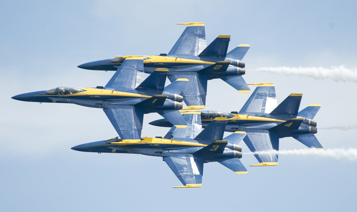Blue Angels announce 2018 air show changes, release 2019 schedule