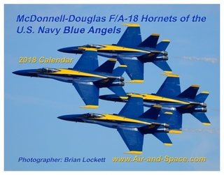 McDonnell Douglas F/A 18 Hornets of the U.S. Navy Blue Angels