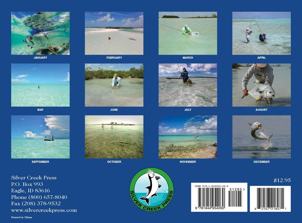 2018 Saltwater Fly Fishing Calendar | Silver Creek Press