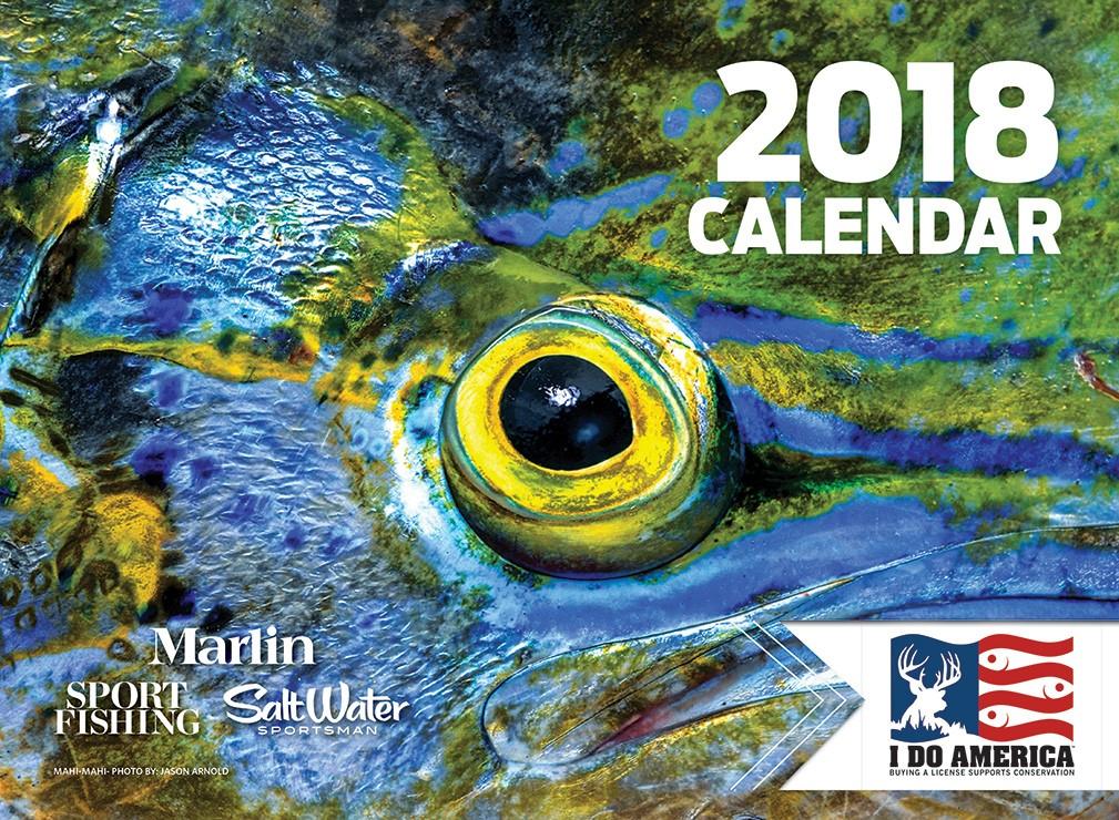 Saltwater Fishing Calendar | BonnierStore.com