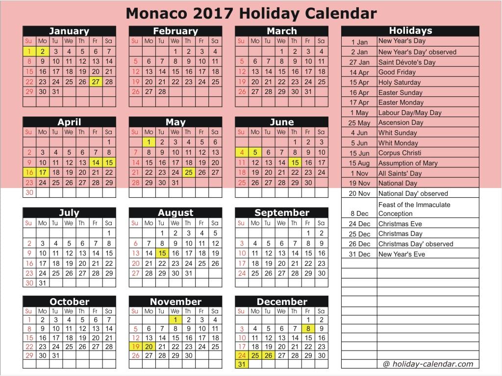 2018 fiscal calendar Madrat.co