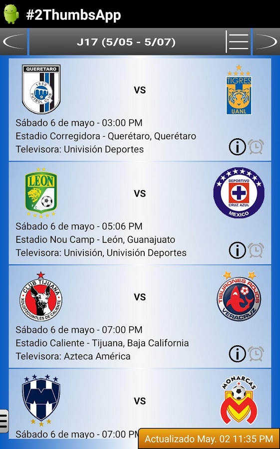 Soccer Mexican League Android Apps on Google Play