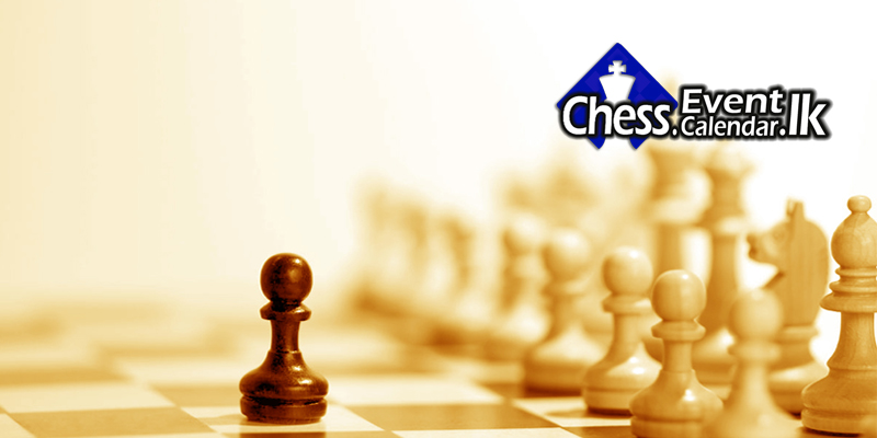 Sri Lanka Chess (CFSL) Calendar 2018 » Chess. EventCalendar.lk
