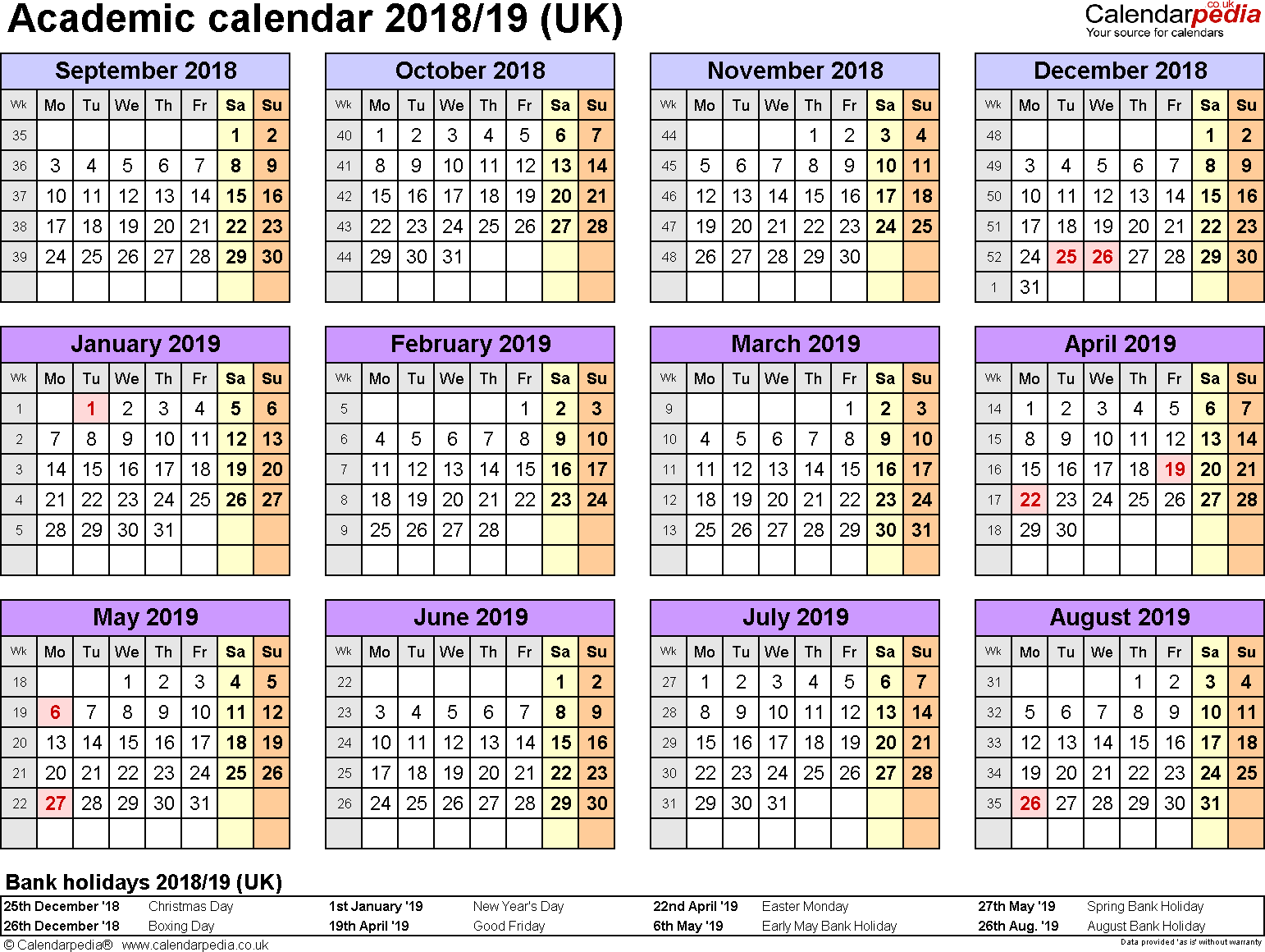 spring 2018 calendar template Madrat.co