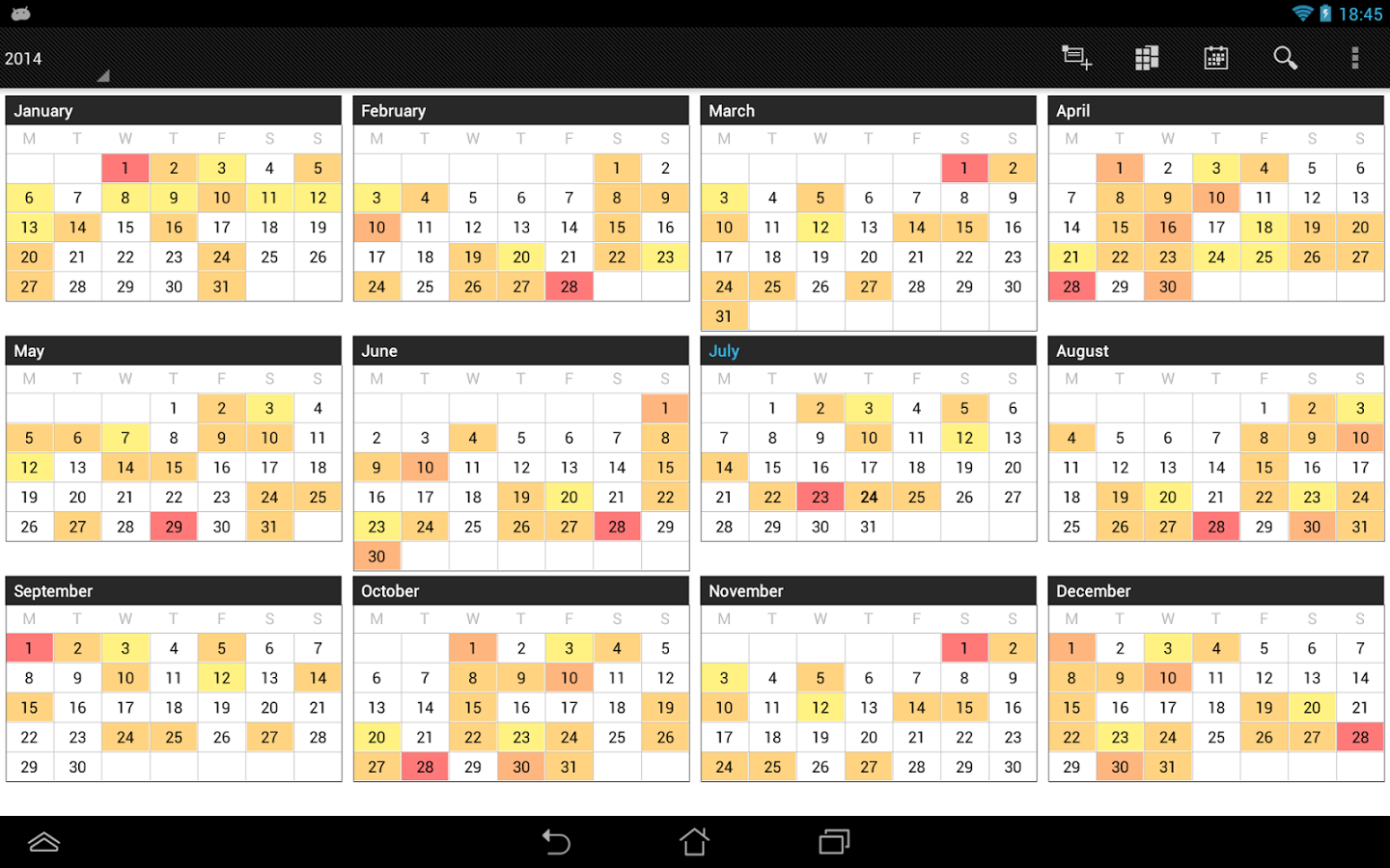 Business Calendar Pro Android Apps on Google Play