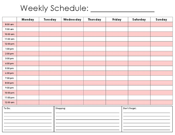 Best 25+ Hourly planner ideas on Pinterest | Daily schedule