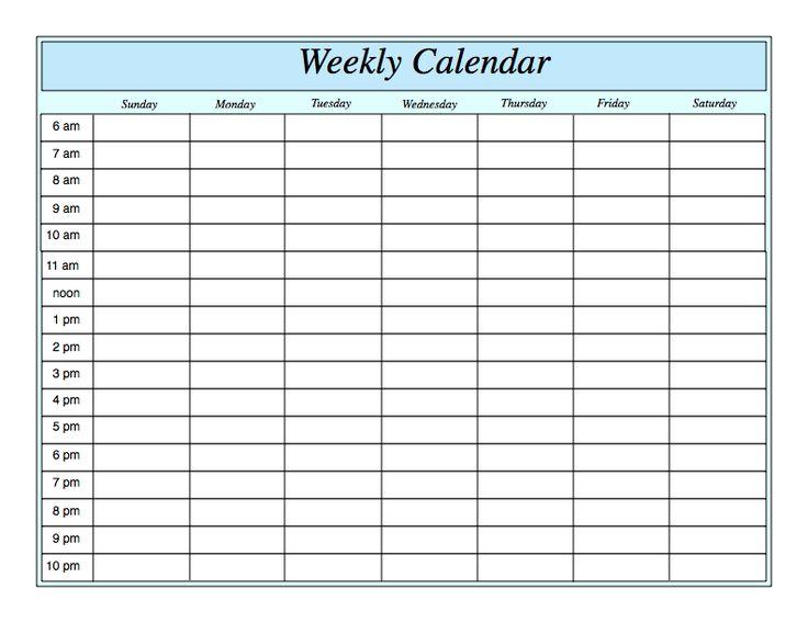 Best 25+ Weekly calendar ideas on Pinterest | Weekly planner