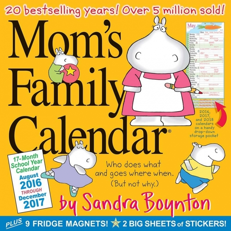Moms Lifeboat 2016 Calendars | Calendar Template 2017