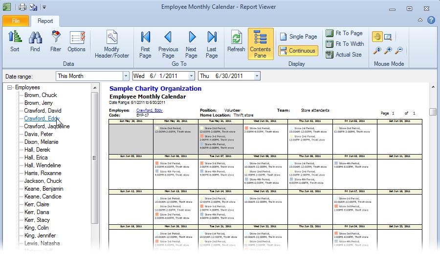 blank monthly employee schedule template