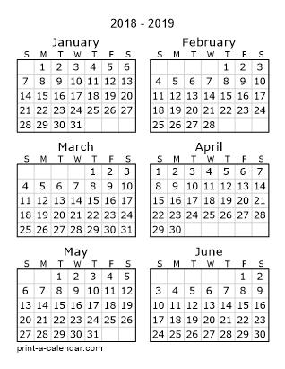 Free Printable 2018 Calendars download : Free 2018 12 month