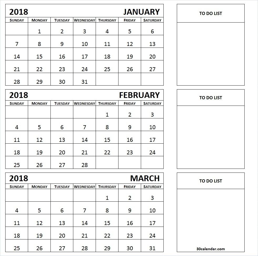 3 Month Summer Calendar 2018 Printable | Flogfolioweekly.com