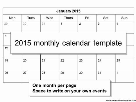 calendars 2015 templates powerpoint 2015 calendar template free